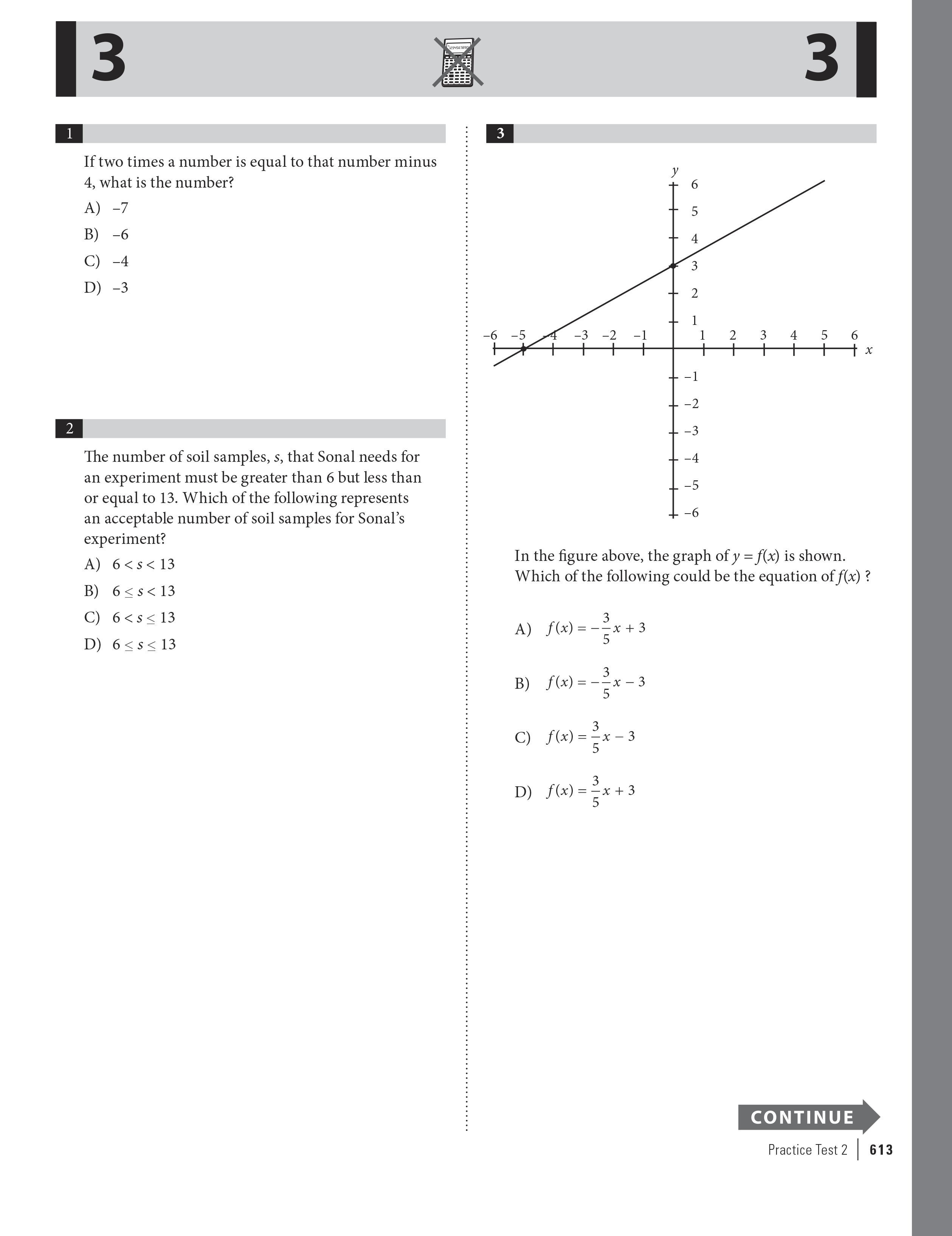 Extended ebook content for Cracking the SAT with 6
