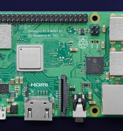 raspberry pi 3 model b  [ 1080 x 749 Pixel ]