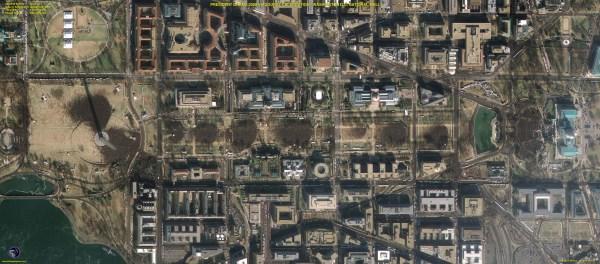 Geoeye-1 Satellite Obama Inauguration