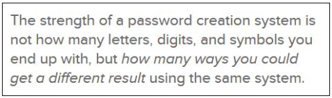 1Password philosophy