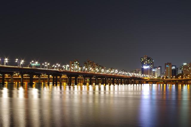 首爾免費景點盤浦大橋