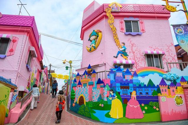 韓國免費景點松月洞童話村
