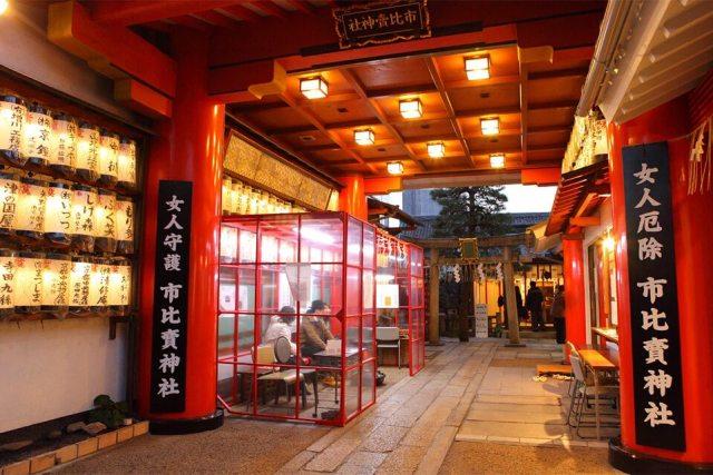 日本神社 市比賣神社