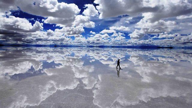 烏尤尼鹽沼(玻利維亞)