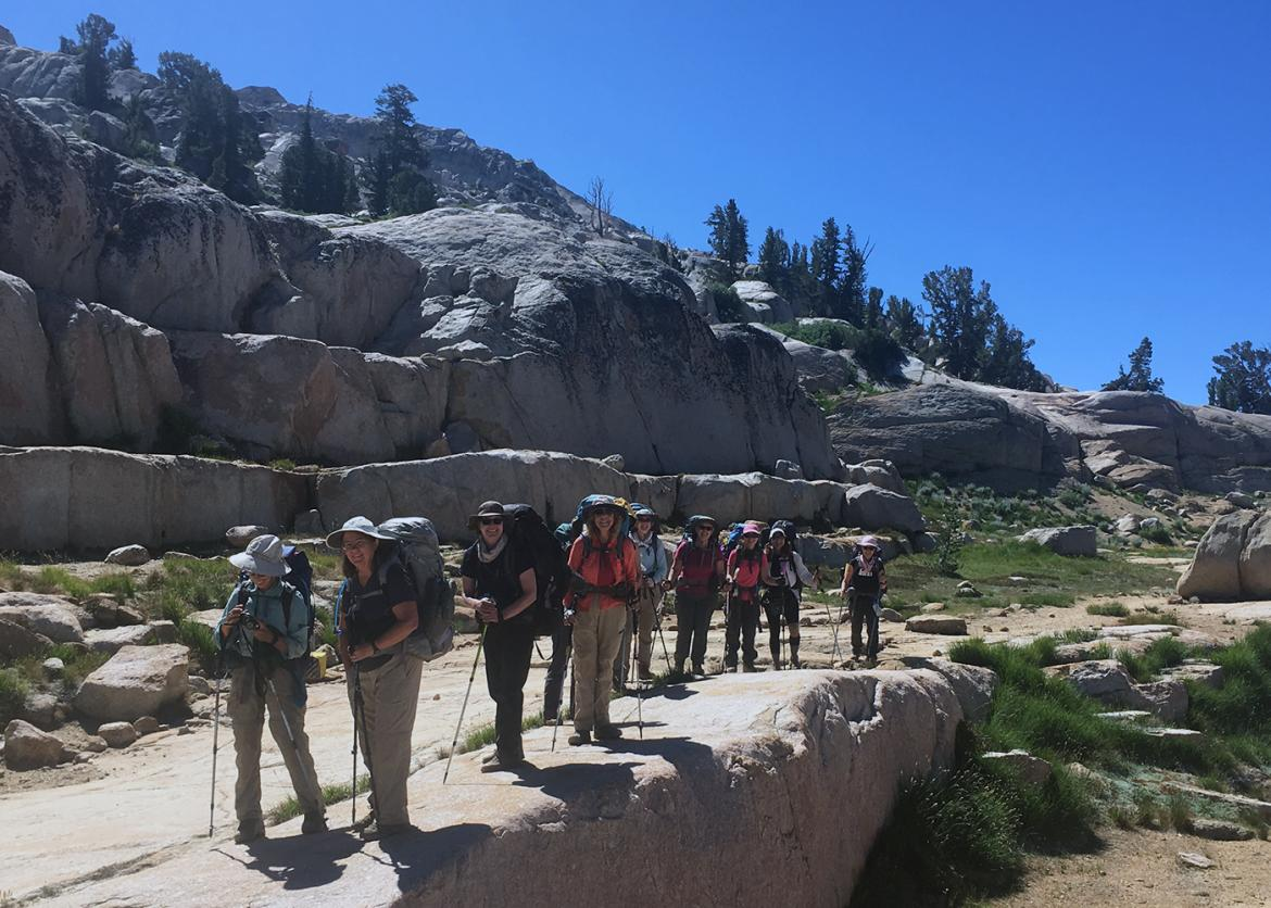 Womens Backpacking Emigrant Wilderness  Sierra Club
