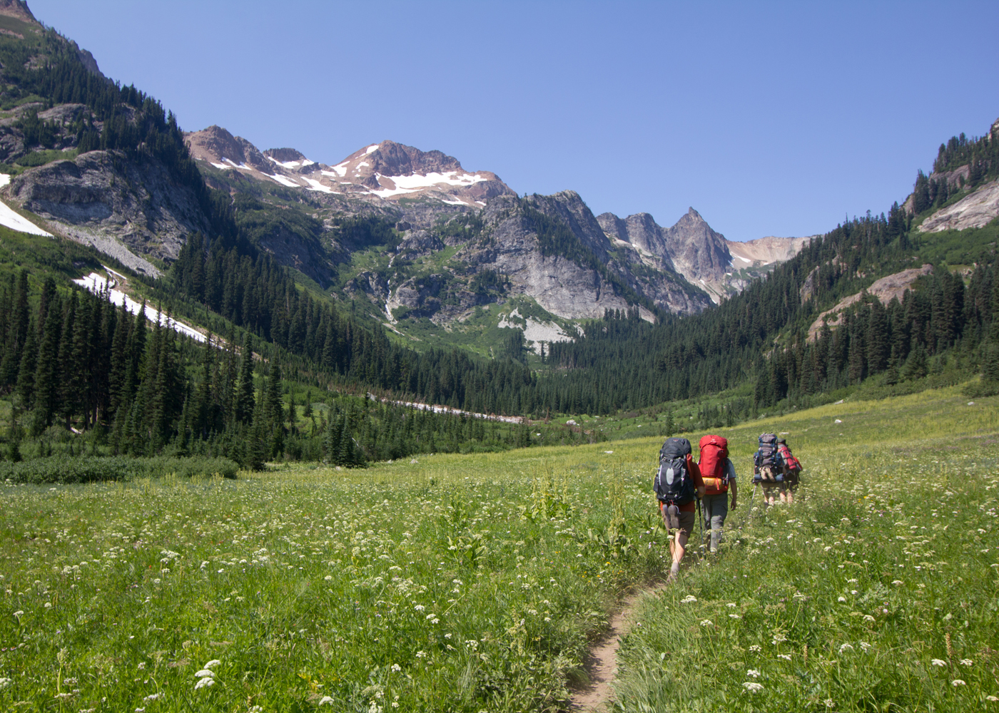 Backpack Glacier Peak Washington Sierra Club Outings