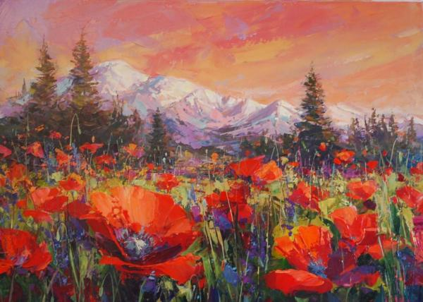 Watercolor Paintings of the Pacific Northwest