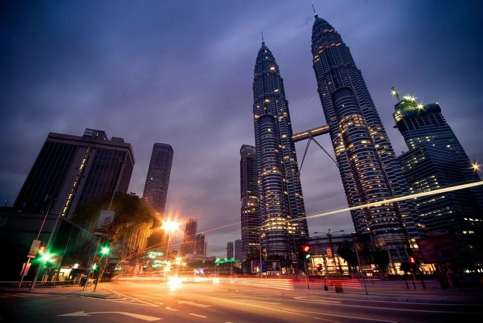 Petronas, ikon kota Kuala Lumpur, Malaysia