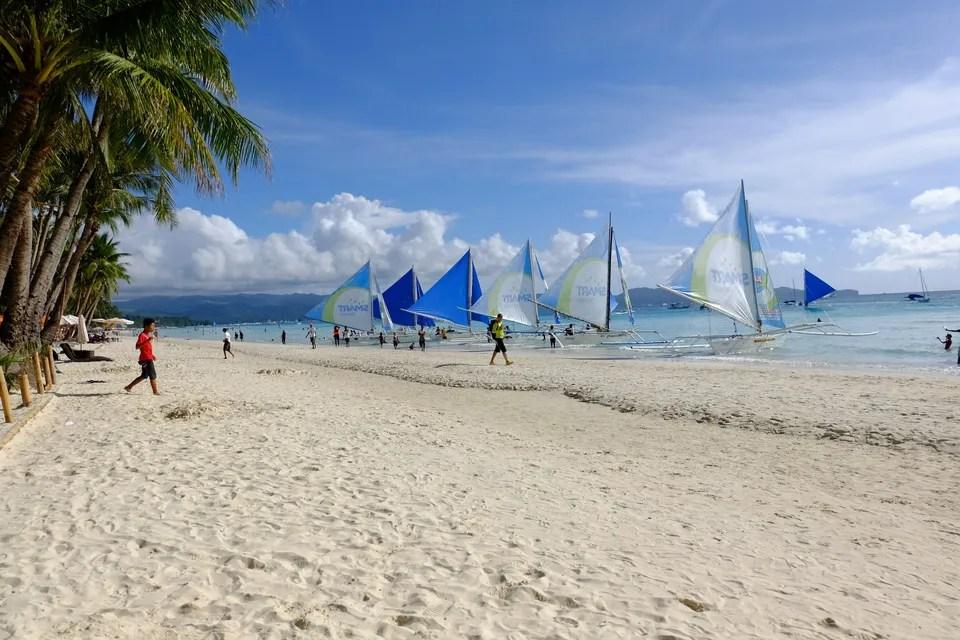 Boracay, pantai paling populer di Filipina