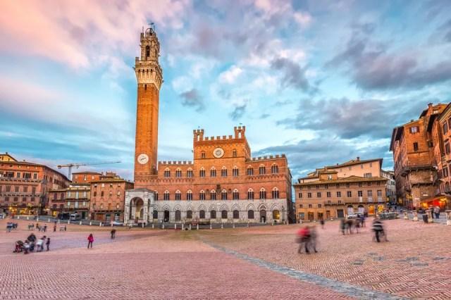 Ciudades más bonitas que visitar en Europa: Siena