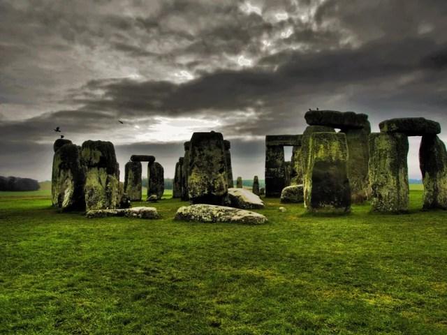 Stonehenge stone circle in Wiltshire, England