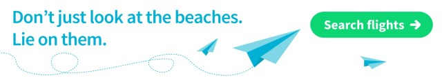 Find cheap flights to a beautiful beach with Skyscanner