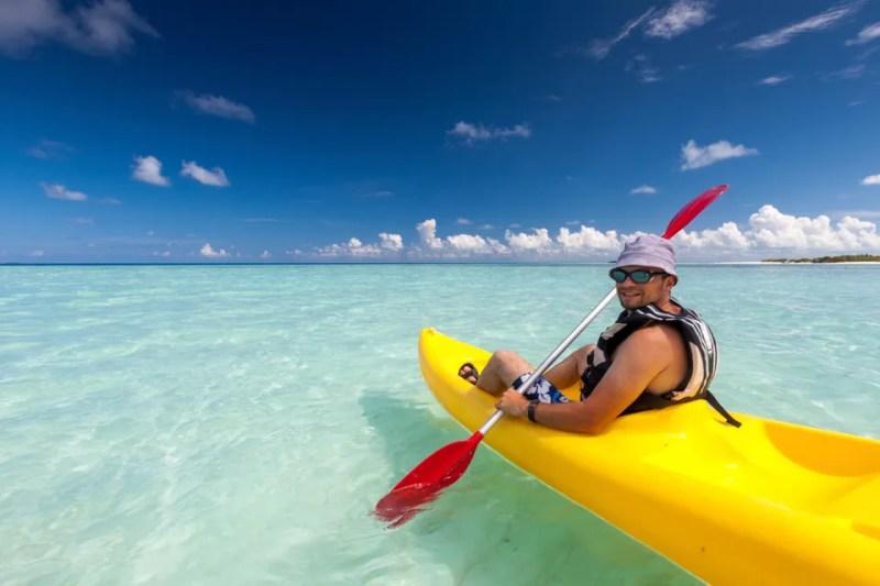 Kayak mer Corse