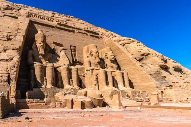 Abu Simbel, no Egito