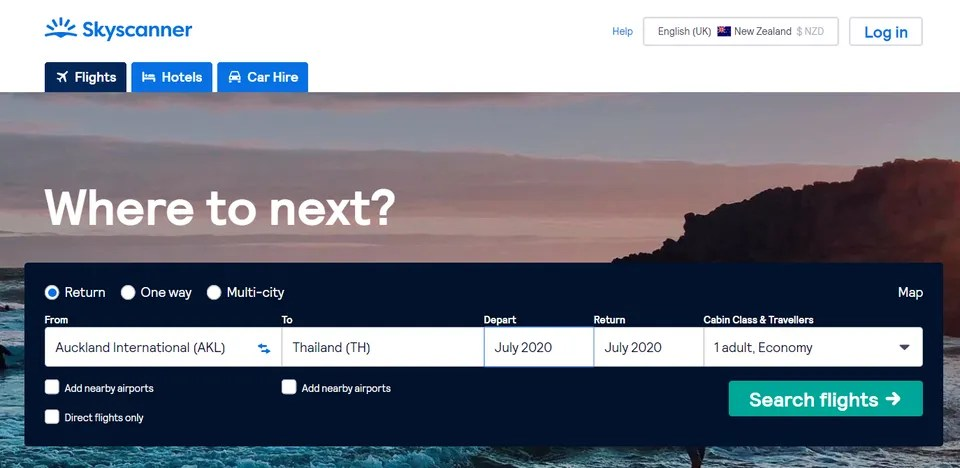 Last Minute Flights: A Guide to Finding a Late Deal - Skyscanner New Zealand