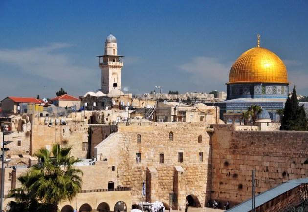 Jerusalém é um dos destinos religiosos mais buscados do mundo.