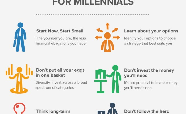 Infographic 6 Investment Tips For Millennials The Money