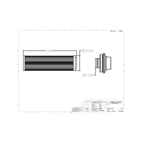 Aeromotive 12364 Extreme Flow 10 Micron Microglass Fuel