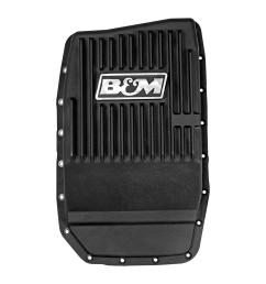 ford b m 70394 cast alum trans pan for ford 6r80 black anodized on ford transmission crossmember  [ 1450 x 1450 Pixel ]