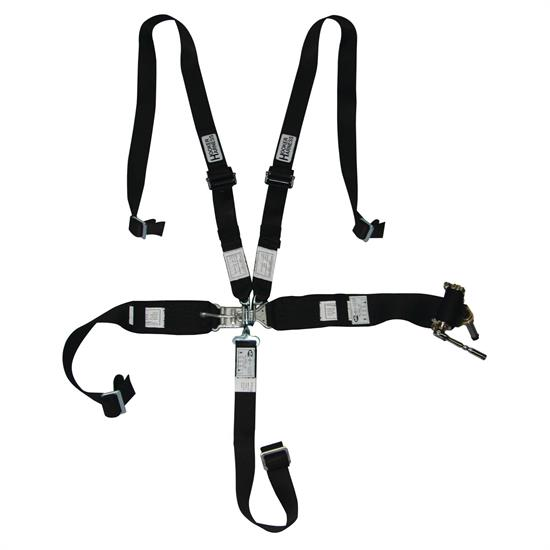 Hooker Harness 5 Point Latch And Link Safety Belt, 2 Inch