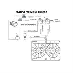 Electric Fan Relay Wiring Kit, Pro Series