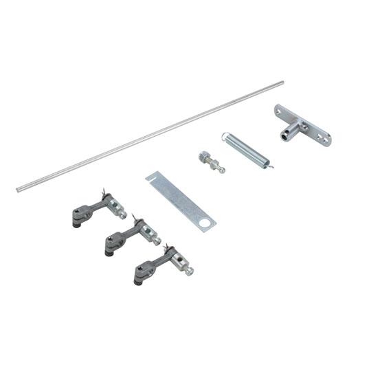 Edelbrock 1034 94 Carb Throttle Linkage Rod Kit, Triple
