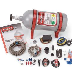 edelbrock 70415 performer efi dry nitrous oxide system ford 4 0l ford mustang efi with nitrous oxide nos wiring system [ 1450 x 1450 Pixel ]
