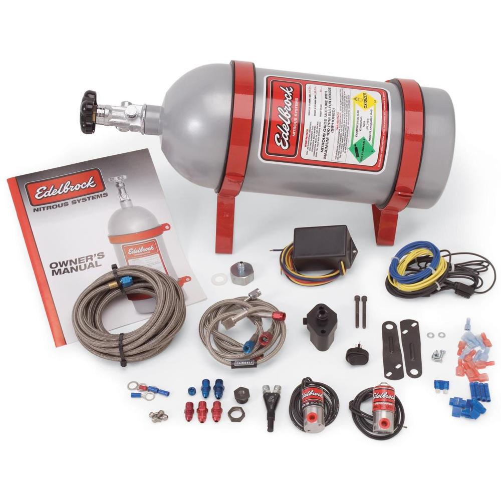 medium resolution of edelbrock 70415 performer efi dry nitrous oxide system ford 4 0l ford mustang efi with nitrous oxide nos wiring system