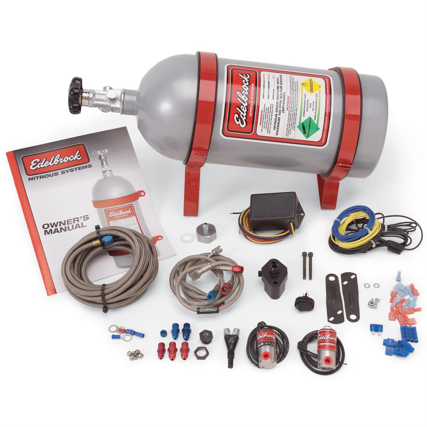 hight resolution of edelbrock 70415 performer efi dry nitrous oxide system ford 4 0l ford mustang efi with nitrous oxide nos wiring system
