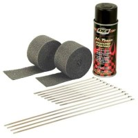DEi 010330 Motorcycle Exhaust Pipe Wrap Kit, Black