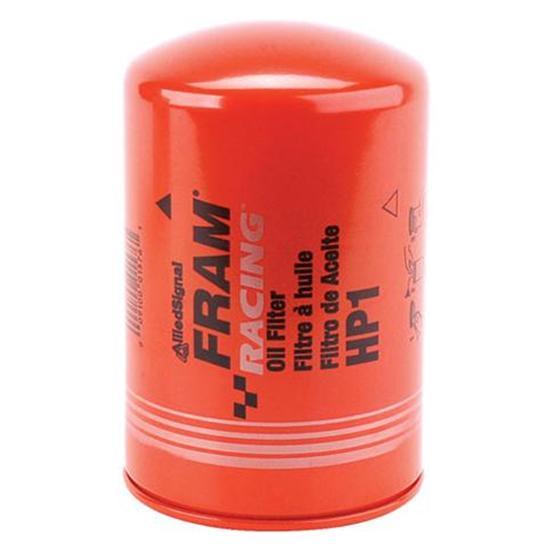 oil filter fram top fuel racing