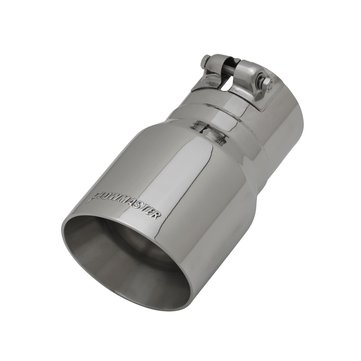 flowmaster 15377 exhaust tip 3 in inlet i d 7 in length