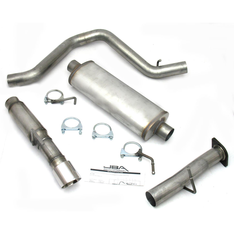 jba 40 3048 ss exhaust system 06 09 trailblazer