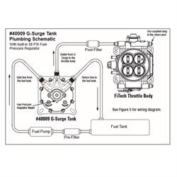 Hyperfuel 40009 G-Surge Electric Fuel Pump