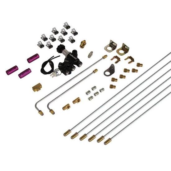 Speedway Universal Brake System Builder Kit, Lines