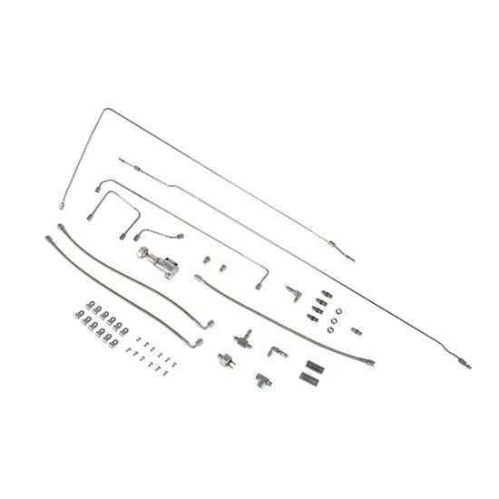 T-Bucket Stainless Brake Line Kit