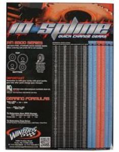 also winters performance poster spline quick change gear chart rh speedwaymotors