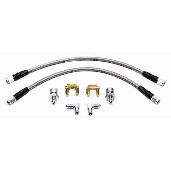 Wilwood 220-9886 Flexline Rear Brake Line Kit, 99-07 GM