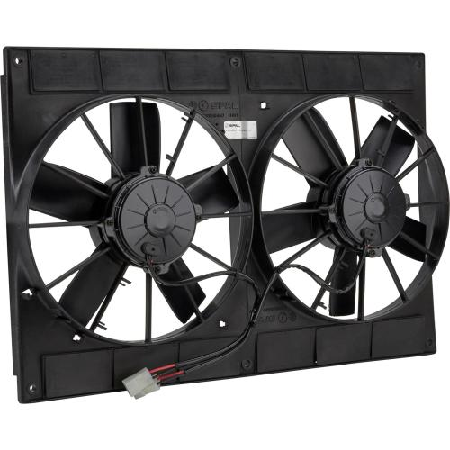 small resolution of spal 30102052 dual electric cooling fan straight blade 11 inch wiring diagram 11 spal dual fans