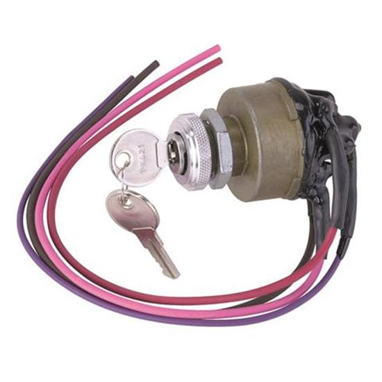 universal ignition switch wiring 2006 ford escape alternator diagram painless 80529 3 way with keys fit 090 overall length 1 863 diameter 750 hole