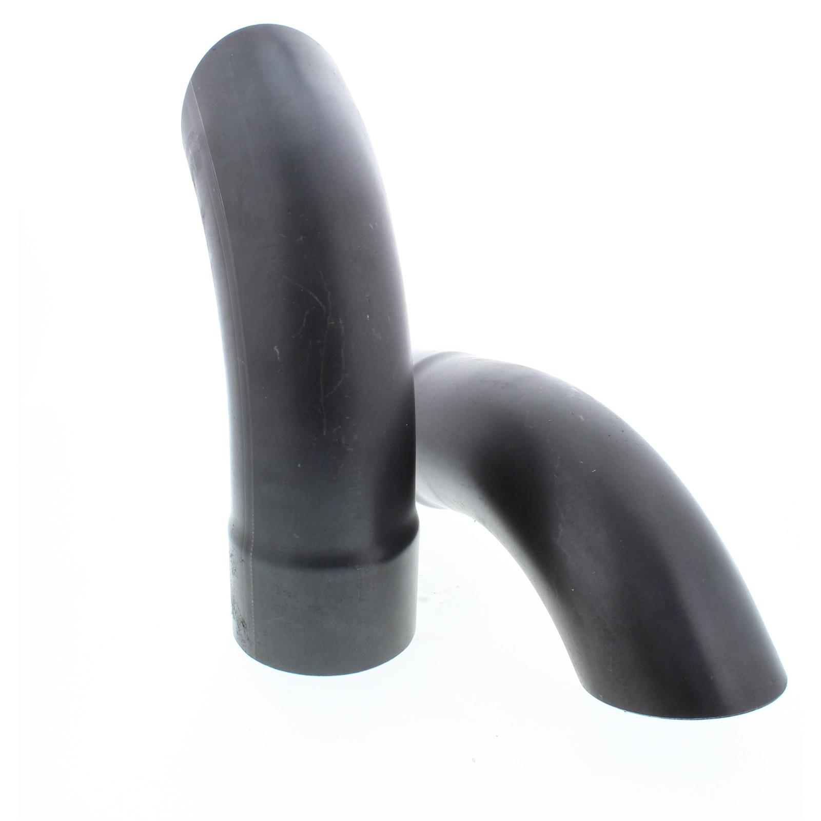 speedway turn down kickout tail pipe tips 3 x 7 inch