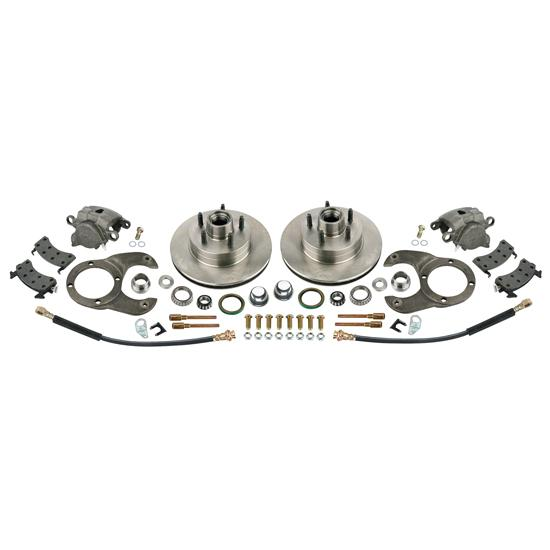 Disc Brake Kit, 1978-88 GM Caliper to Early Ford Spindle