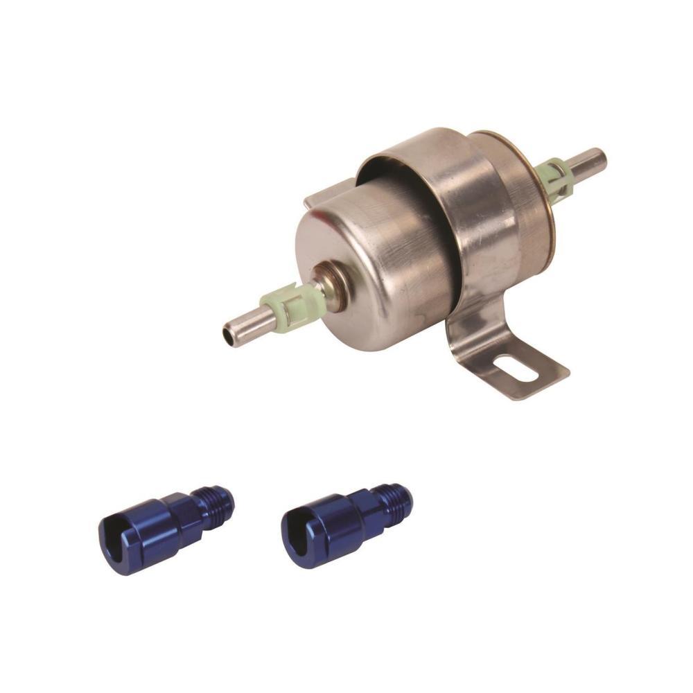 medium resolution of speedway high pressure efi inline fuel filter 120 gph at 60 psi inline fuel filter motorcycle inline fuel filter