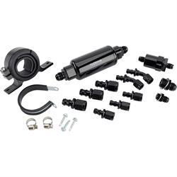 FiTech 40005-1 EFI Fuel Filter, Bracket & Fitting Kit