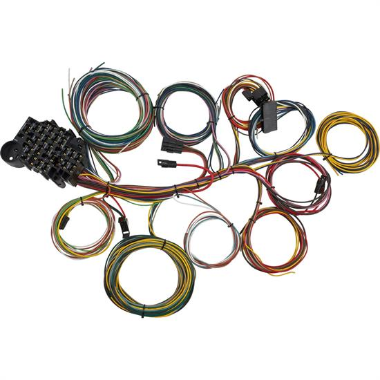 22circuit universal automotive aftermarket wiring harness kit
