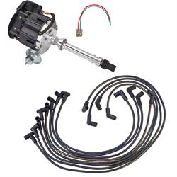 SBC/BBC Ready-to-Run Ignition Kit, Black Dist/Red Over-V/C