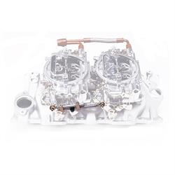 Edelbrock Small Block Chevy Dual Quad Intake/Carburetor Kit