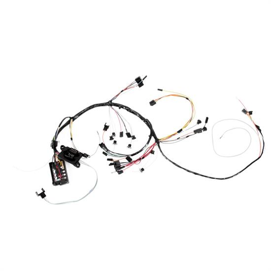 Speedway Dash wiring Harness w/Gauges, 1966 Chevelle