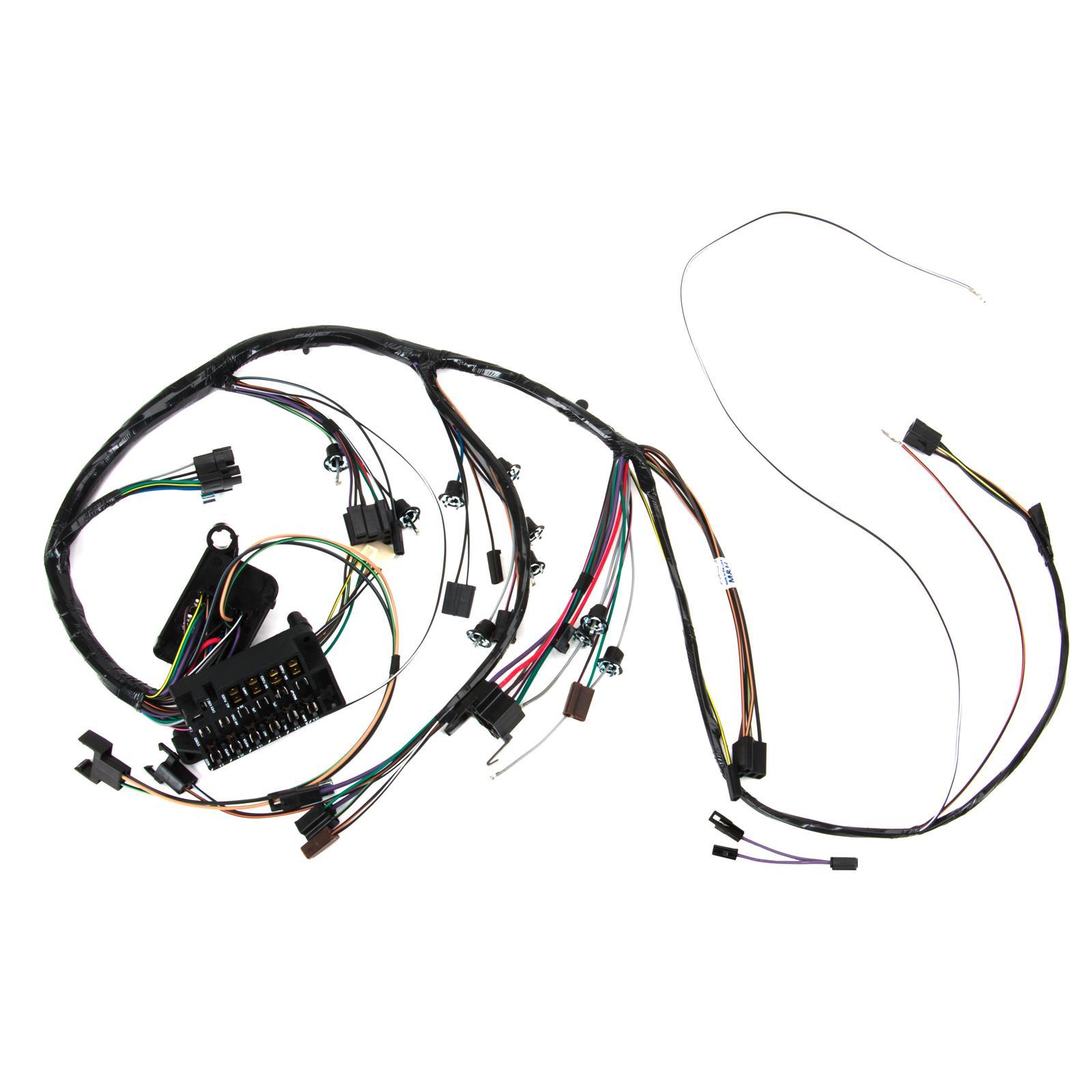 Speedway Dash wiring Harness w/Gauges, 1967 Chevelle