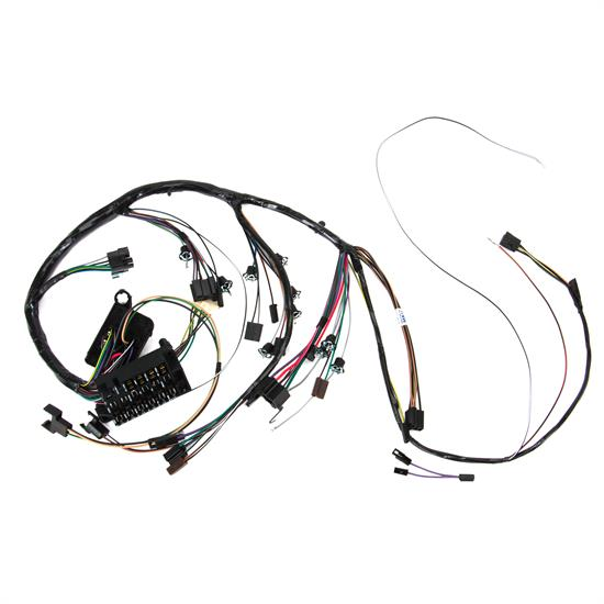 M&H Electric 10535 Dash wiring Harness w/Gauges, 1967 Chevelle